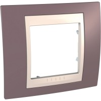 Фото - Рамка для розетки / выключателя Schneider Unica MGU6.002.576