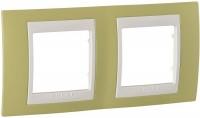 Фото - Рамка для розетки / выключателя Schneider Unica MGU6.004.563