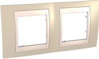 Фото - Рамка для розетки / выключателя Schneider Unica MGU6.004.567