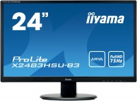 "Монитор Iiyama ProLite X2483HSU-B3 24"""