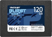 SSD Patriot Memory Burst Elite PBE120GS25SSDR 120ГБ