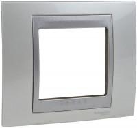 Фото - Рамка для розетки / выключателя Schneider Unica Top MGU66.002.092