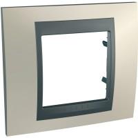 Фото - Рамка для розетки / выключателя Schneider Unica Top MGU66.002.295
