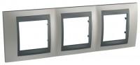 Фото - Рамка для розетки / выключателя Schneider Unica Top MGU66.006.239