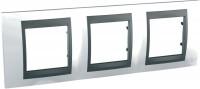 Фото - Рамка для розетки / выключателя Schneider Unica Top MGU66.006.292
