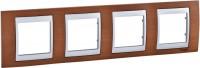 Рамка для розетки / выключателя Schneider Unica Top MGU66.008.0M2