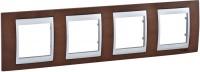 Рамка для розетки / выключателя Schneider Unica Top MGU66.008.0M4