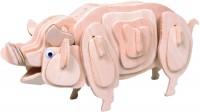 3D пазл MDI Pig M012