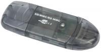 Картридер/USB-хаб Gembird FD2-SD-1