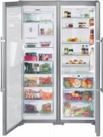 Холодильник Liebherr SBSes 8283 нержавеющая сталь