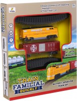 Автотрек / железная дорога Fenfa Train Familial Quickly 1600A-8E