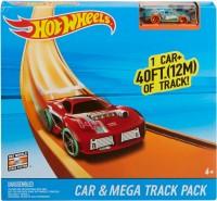 Автотрек / железная дорога Hot Wheels Track Builder Car and Mega Track Pack