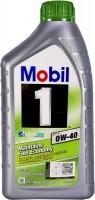 Моторное масло MOBIL ESP X3 0W-40 1л