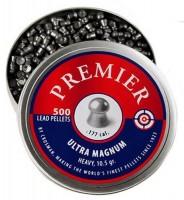Кулі й патрони Crosman Premier Ultra Magnum Domed 4.5 mm 0.68 g 500 pcs