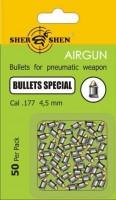 Кулі й патрони Shershen Special 4.5 mm 0.55 g 50 pcs