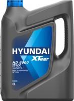 Моторное масло Hyundai XTeer HD 6000 20W-50 6л