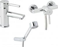 Фото - Набор смесителей Genebre Tau 03TA1-shower
