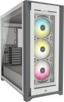 Корпус Corsair iCUE 5000X RGB TG белый