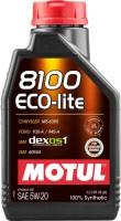 Моторное масло Motul 8100 Eco-Lite 5W-20 1л