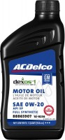 Моторное масло ACDelco Dexos1 Full Synthetic 0W-20 1L 1л