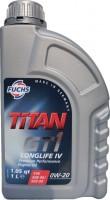 Моторное масло Fuchs Titan GT1 Longlife IV 0W-20 1л