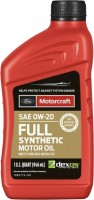 Моторное масло Ford Motorcraft Full Synthetic 0W-20 1л