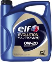 Моторное масло ELF Evolution Fulltech APX 0W-20 5L 5л