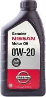 Моторное масло Nissan Synthetic Engine Oil 0W-20 1L 1л