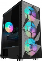 Корпус 1stPlayer X7-3G6P-1G6 черный