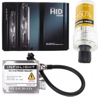 Фото - Автолампа InfoLight Standart H11 5000K +50 Kit