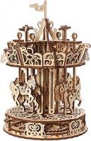 3D пазл UGears Carousel 70129