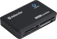 Картридер/USB-хаб Defender Optimus