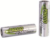 Фото - Аккумуляторная батарейка Ansmann Photo 1xAA 2400