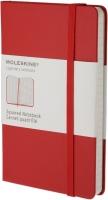 Блокнот Moleskine Squared Notebook Pocket Red