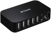 Картридер/USB-хаб D-Link DUB-H7