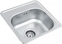 Кухонная мойка Ukinox Comfort CO 381 381 GT 381х381мм