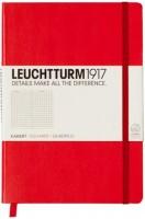 Блокнот Leuchtturm1917 Squared Notebook Pocket Red