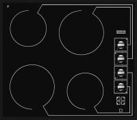Фото - Варочная поверхность Franke FHC 604 4 CR M черный
