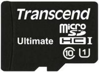 Карта памяти Transcend Ultimate microSDHC Class 10 UHS-I 600x 8Gb