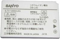 Фото - Аккумулятор для камеры Sanyo DB-L40