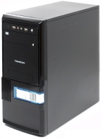 Фото - Корпус (системный блок) FrimeCom FB-101 GL 400W БП 400Вт черный