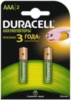 Аккумуляторная батарейка Duracell  2xAAA 750 mAh