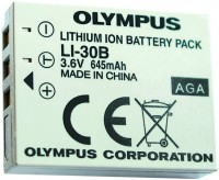 Фото - Аккумулятор для камеры Olympus LI-30B