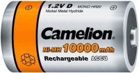 Фото - Аккумулятор / батарейка Camelion 2xD 10000 mAh