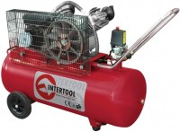 Компрессор Intertool PT-0014 100 л сеть (220 В)