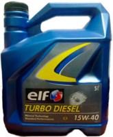 Моторное масло ELF Turbo Diesel 15W-40 5л