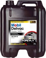 Моторное масло MOBIL Delvac Super 1400 15W-40 20 л
