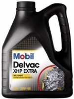 Моторное масло MOBIL Delvac XHP Extra 10W-40 4 л