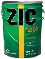 Моторное масло ZIC 5000 10W-40 20L