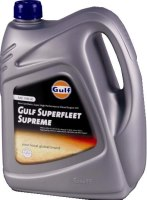 Моторное масло Gulf Superfleet Supreme 15W-40 4л